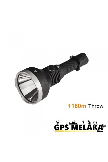 Acebeam T27 with Cree XHP35 HI LED Flashlight - 1180 Meters Throw