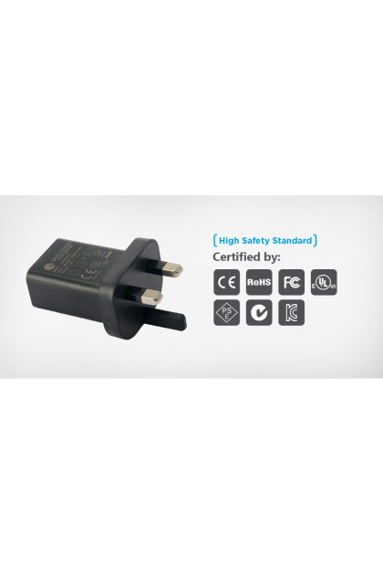 Xtar 5V 2.1A UK Adaptor for VC2 Plus & VC4 Chargers