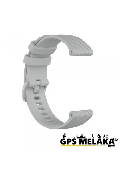 Silicone Band Strap For Garmin Vivoactive 3, Vivomove HR, FR 645 Grey