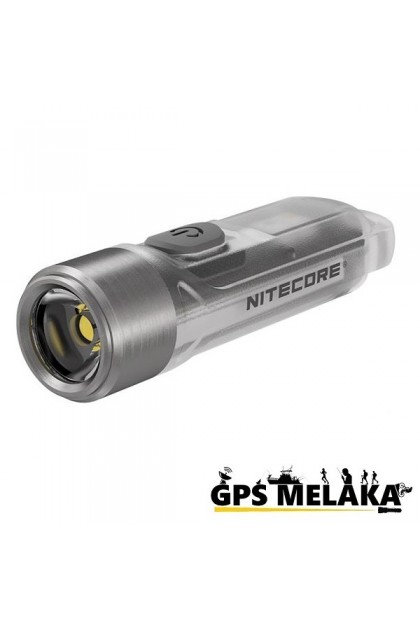 Nitecore Tiki Mini Futuristic Keychain LED Rechargeable White & UV Light