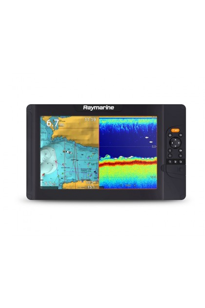 Raymarine Element 7S with High CHIRP Sonar Fishfinder and GPS Navigation