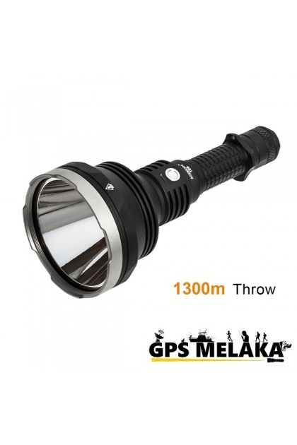 Acebeam T28 Tactical & Hunting Rechargeable Thrower Flashlight - 1300 Meters Throw